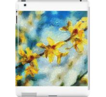 Wild Orchid Blooms iPad Case/Skin