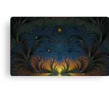 Towards the morning star Canvas Print