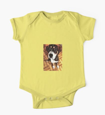 Marty The Soulful Eyed Dog  One Piece - Short Sleeve