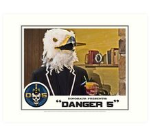"Danger 5 Lobby Card #2 - ""Bangkok Sunrise"" Art Print"