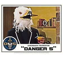 "Danger 5 Lobby Card #2 - ""Bangkok Sunrise"" Photographic Print"