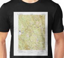 USGS TOPO Map California CA Blue Lake 296849 1951 62500 geo Unisex T-Shirt