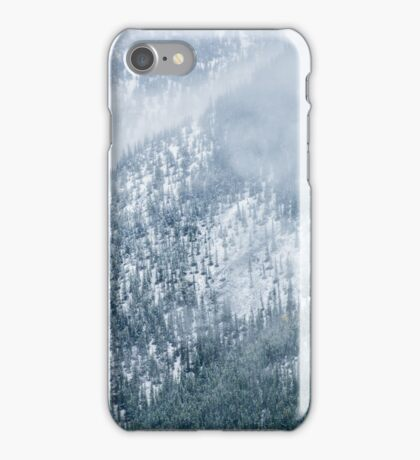 A Snowy Start to the Last Day of Summer iPhone Case/Skin
