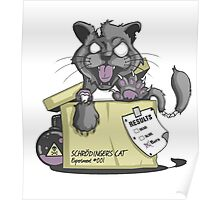 Schrödinger Cat Poster