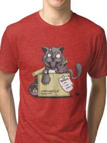 Schrödinger Cat Tri-blend T-Shirt