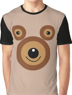 Funny bear face Graphic T-Shirt