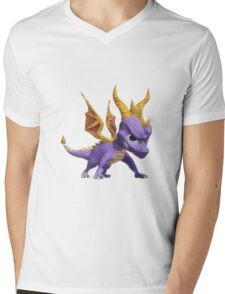 Spyro Voxel Mens V-Neck T-Shirt