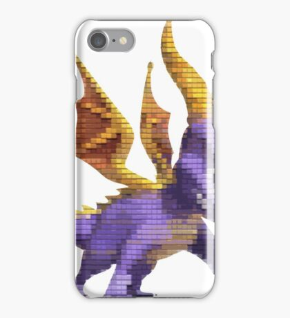 Spyro Voxel iPhone Case/Skin