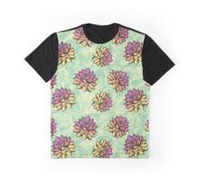 Lotus Flowers Graphic T-Shirt