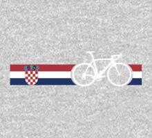 Bike Stripes Croatia One Piece - Long Sleeve