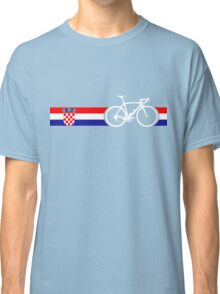 Bike Stripes Croatia Classic T-Shirt