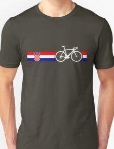 Bike Stripes Croatia Unisex T-Shirt