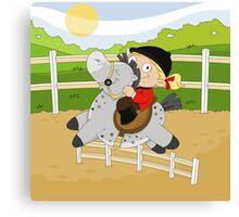 Olympic Sports: Equestrian Canvas Print