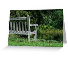 Thinking Place Greeting Card
