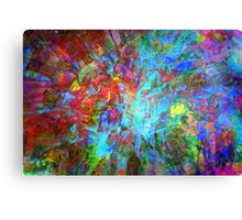 Color Abstraction - 3453 - Digital Background - Wallpaper Canvas Print