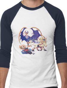 Pokemon Sun and Moon Men's Baseball ¾ T-Shirt