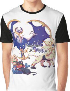 Pokemon Sun and Moon Graphic T-Shirt