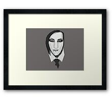 Chris Motionless Framed Print