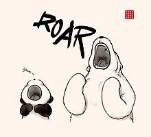 Yawn vs. Roar by Panda And Polar Bear