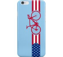 Bike Stripes USA v2 iPhone Case/Skin