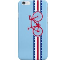 Bike Stripes USA iPhone Case/Skin