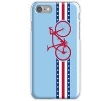 Bike Stripes USA iPhone Case/Skin