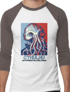 Cthulhu - Are you ready for a change ? LIMITED EDITION! Men's Baseball ¾ T-Shirt