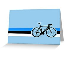 Bike Stripes Estonia Greeting Card