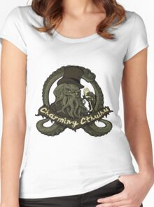 Charming Cthulhu - LIMITED EDITION Women's Fitted Scoop T-Shirt