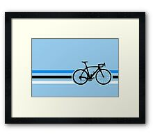 Bike Stripes Estonia v2 Framed Print