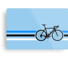 Bike Stripes Estonia v2 Metal Print