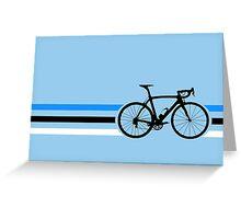Bike Stripes Estonia v2 Greeting Card