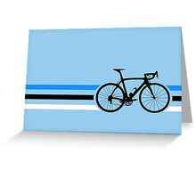 Bike Stripes Estonia v2 Greeting Card