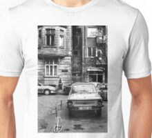 Quiet Streetscape In Sofia From Last Century Unisex T-Shirt
