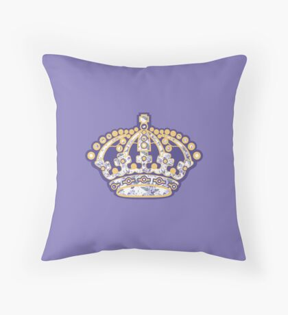 Los Angel#soft Kings Throw Pillow