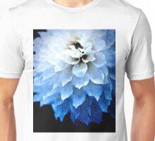 Blue Dahlia Unisex T-Shirt