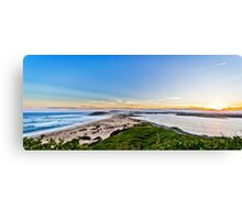 NEWCASTLE From Nobbys Lighthouse Canvas Print