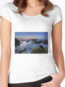 Sunrise on the Sunshine Coast Women's Fitted Scoop T-Shirt