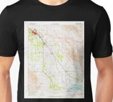 USGS TOPO Map California CA Coachella 297122 1956 62500 geo Unisex T-Shirt