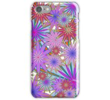 Colourful  Floral iPhone Case/Skin
