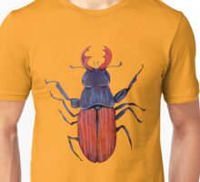 The measurement of space / stag-beetle Unisex T-Shirt