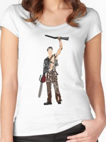 Ash - The Evil Dead Women's Fitted Scoop T-Shirt