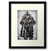 Bane - The Dark Knight Framed Print