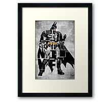 Batman - The Dark Knight Framed Print