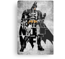 Batman - The Dark Knight Metal Print