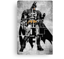 Batman - The Dark Knight Canvas Print