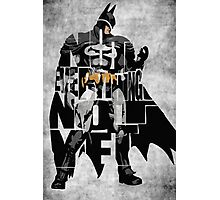 Batman - The Dark Knight Photographic Print