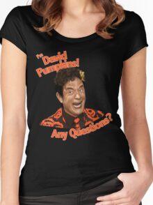 David Pumpkins! Women's Fitted Scoop T-Shirt