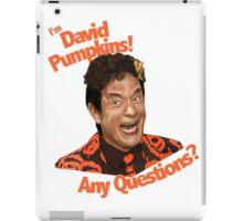 David Pumpkins! iPad Case/Skin