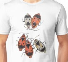 The measurement of space. Bedbugs Unisex T-Shirt